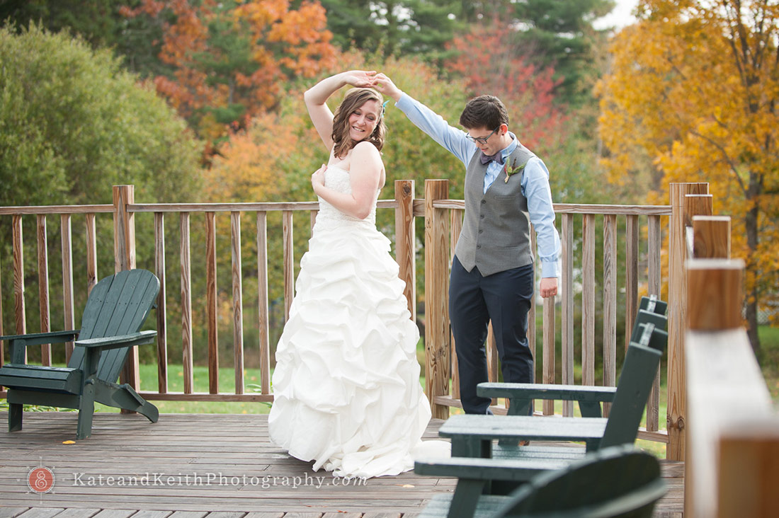fall Acadia National Park wedding