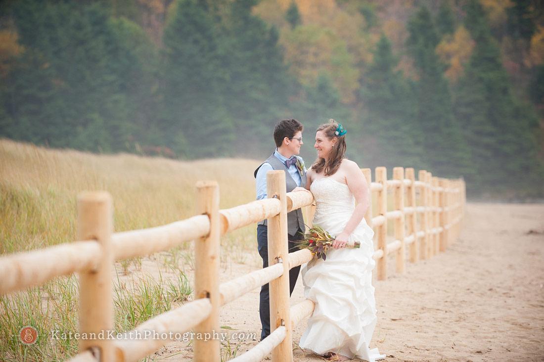 Cadillac Mountain wedding ceremony Acadia National Park portraits