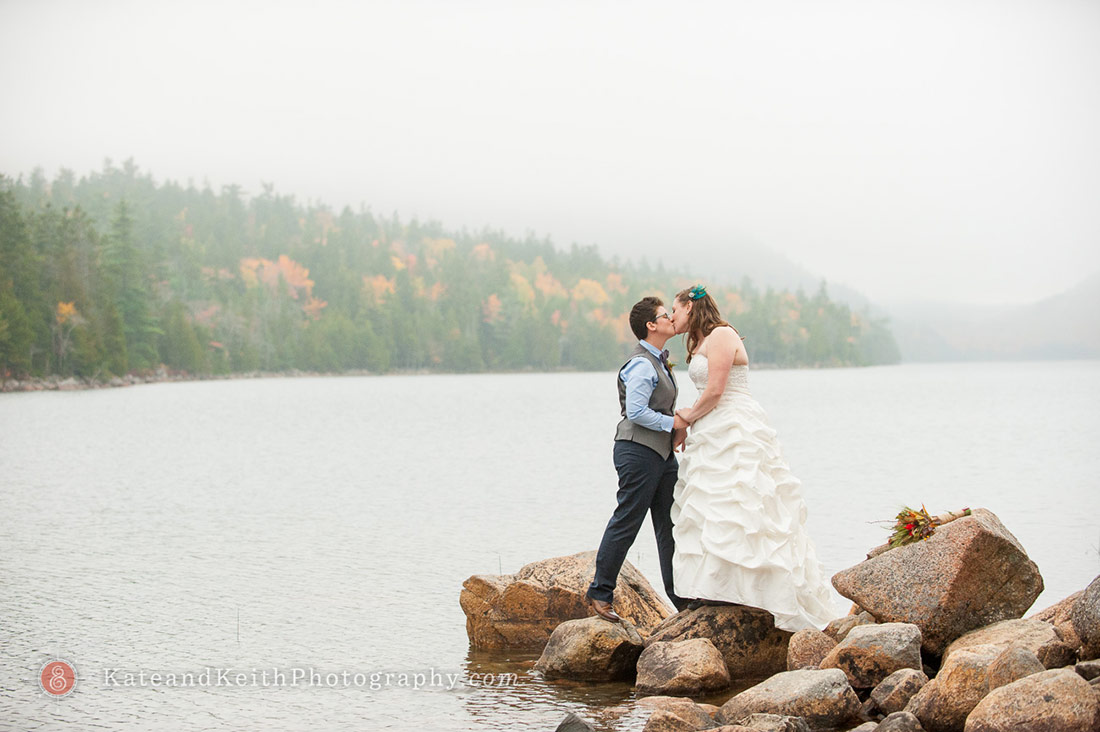 Acadia National Park Wedding Jordan Pond