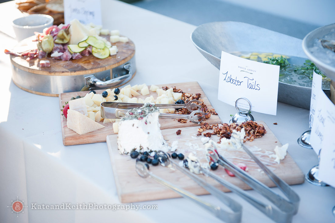 buffet New Hampshire Seacoast wedding