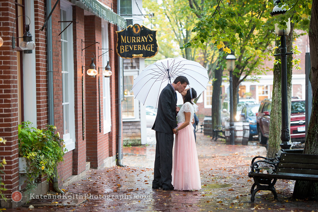 downtown Nantucket Wedding photos