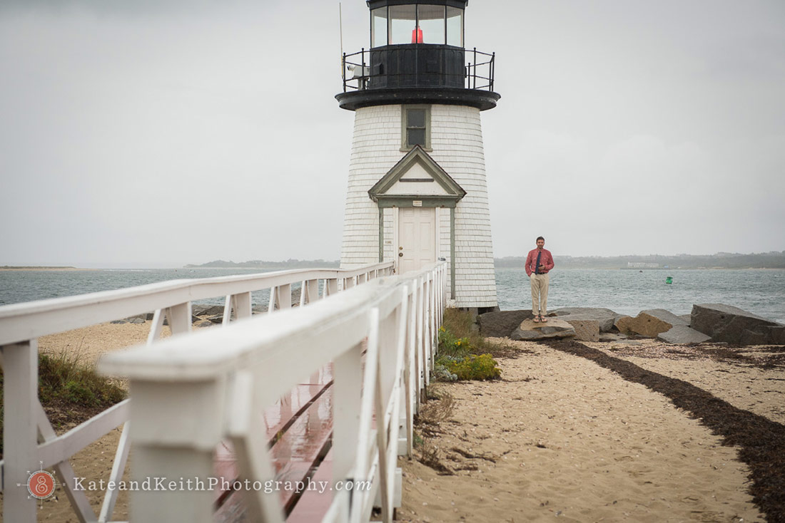 Nantucket Lighthouse Wedding officiant