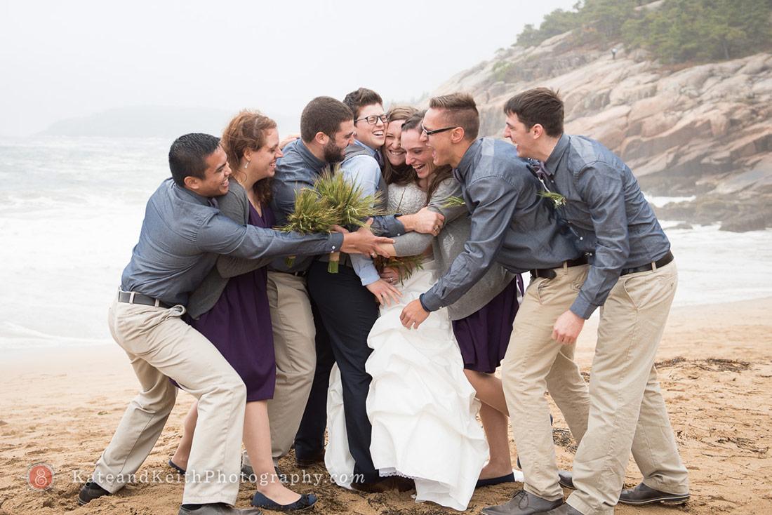 Cadillac Mountain wedding ceremony Acadia National Park photos
