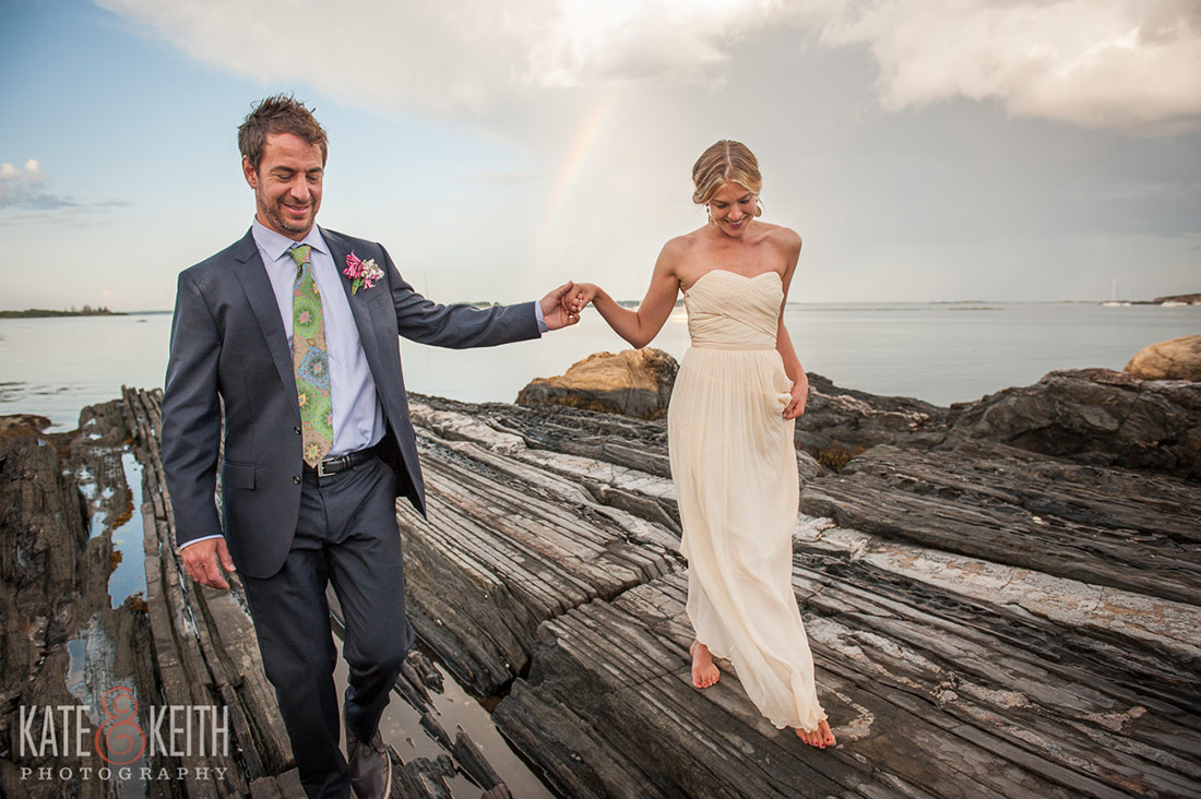 Cliff Island Wedding Maine wedding photographers