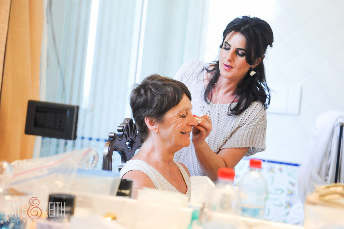 Destination Wedding makeup
