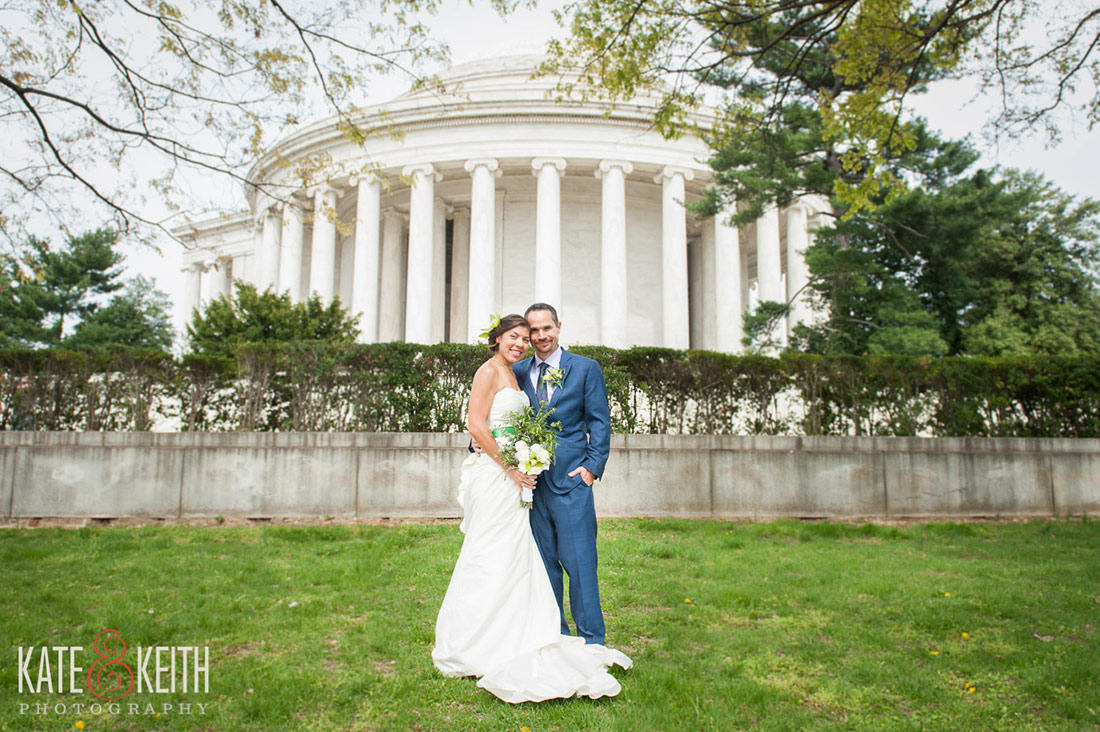 Jefferson Memorial Wedding