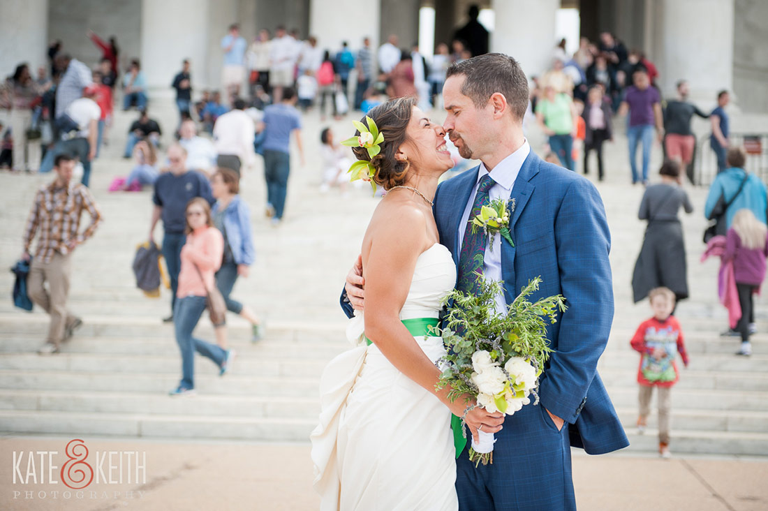 Jefferson Memorial DC Wedding