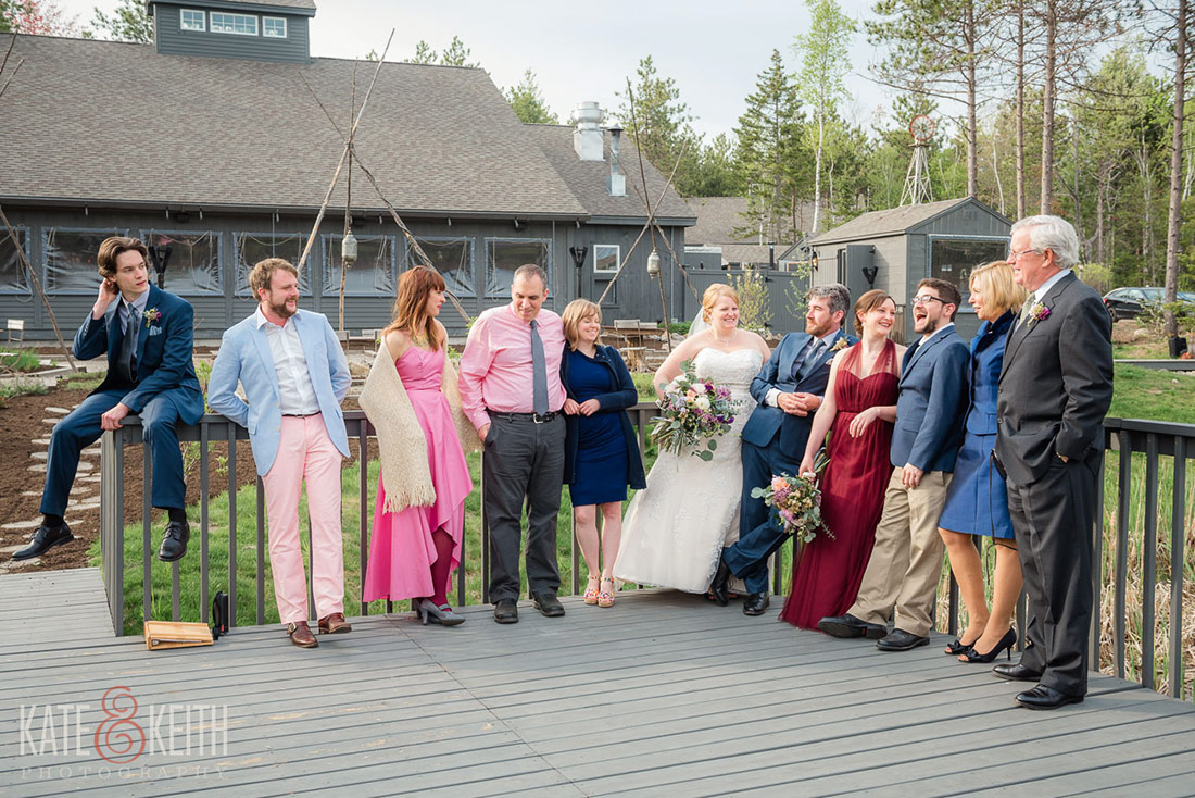 Hidden Pond wedding Kennebunkport, Maine family photos