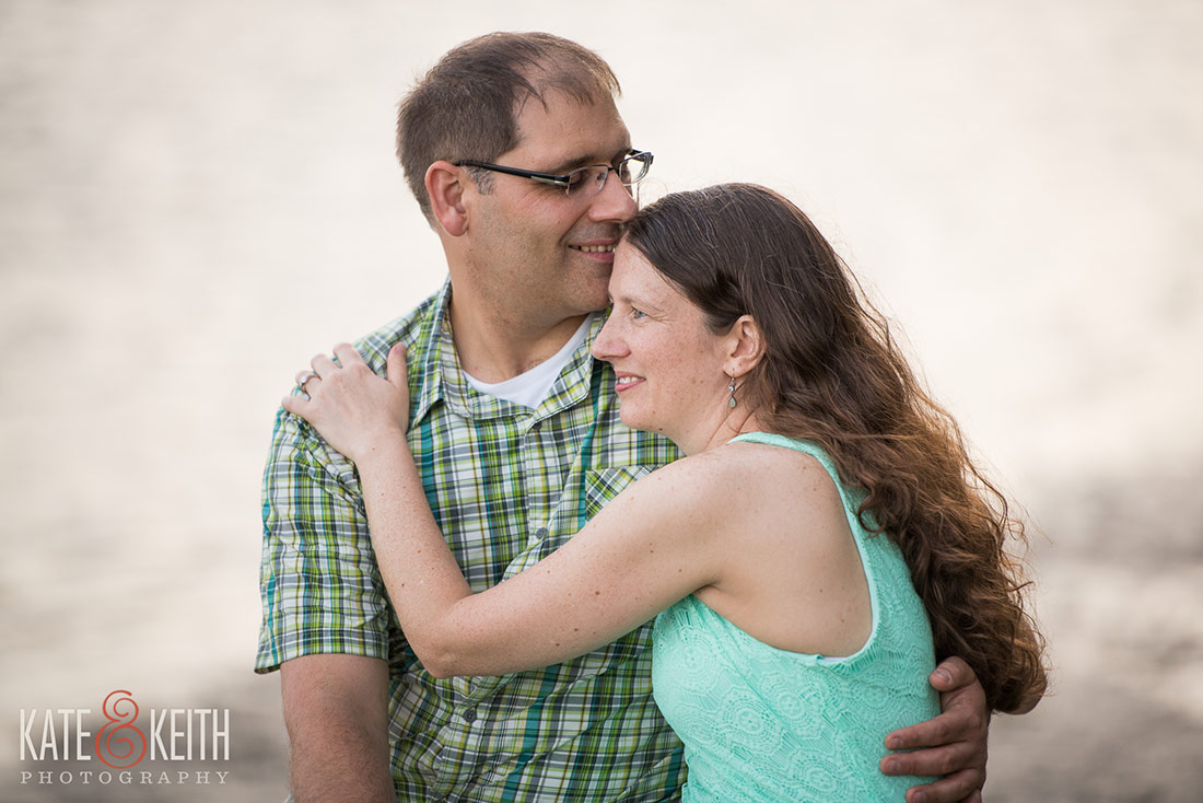 Engagement photo session at Wagon Hill Farm in Seacoast New Hampshire