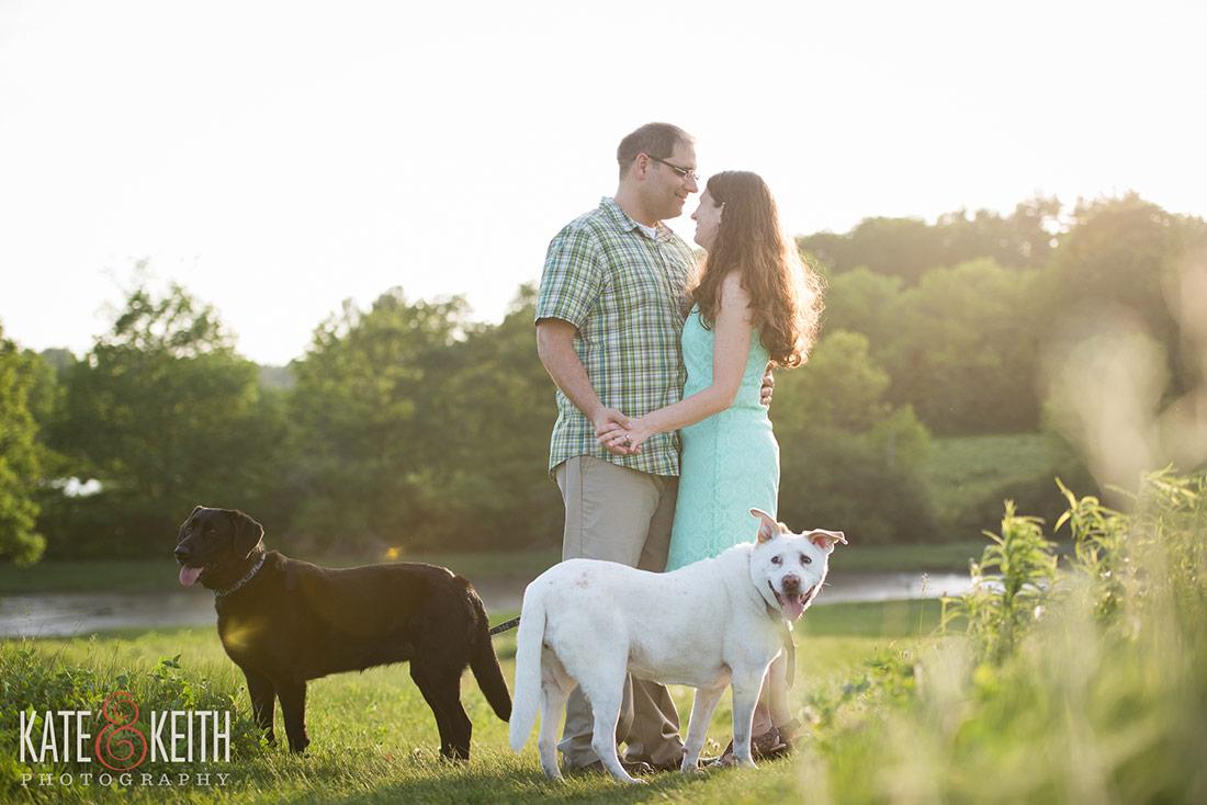 Wagon Hill Farm Engagement Photos, Seacoast New Hampshire