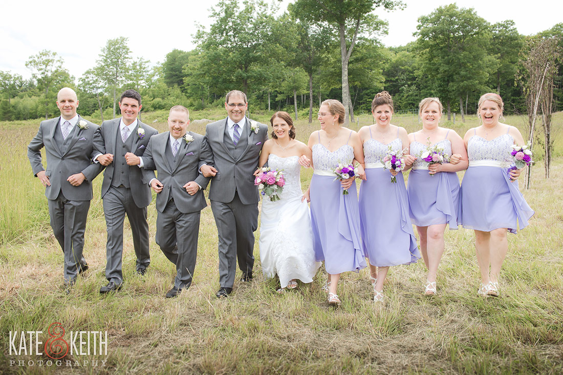 Tumbledown Farm rustic barn wedding photography in NH lakes region