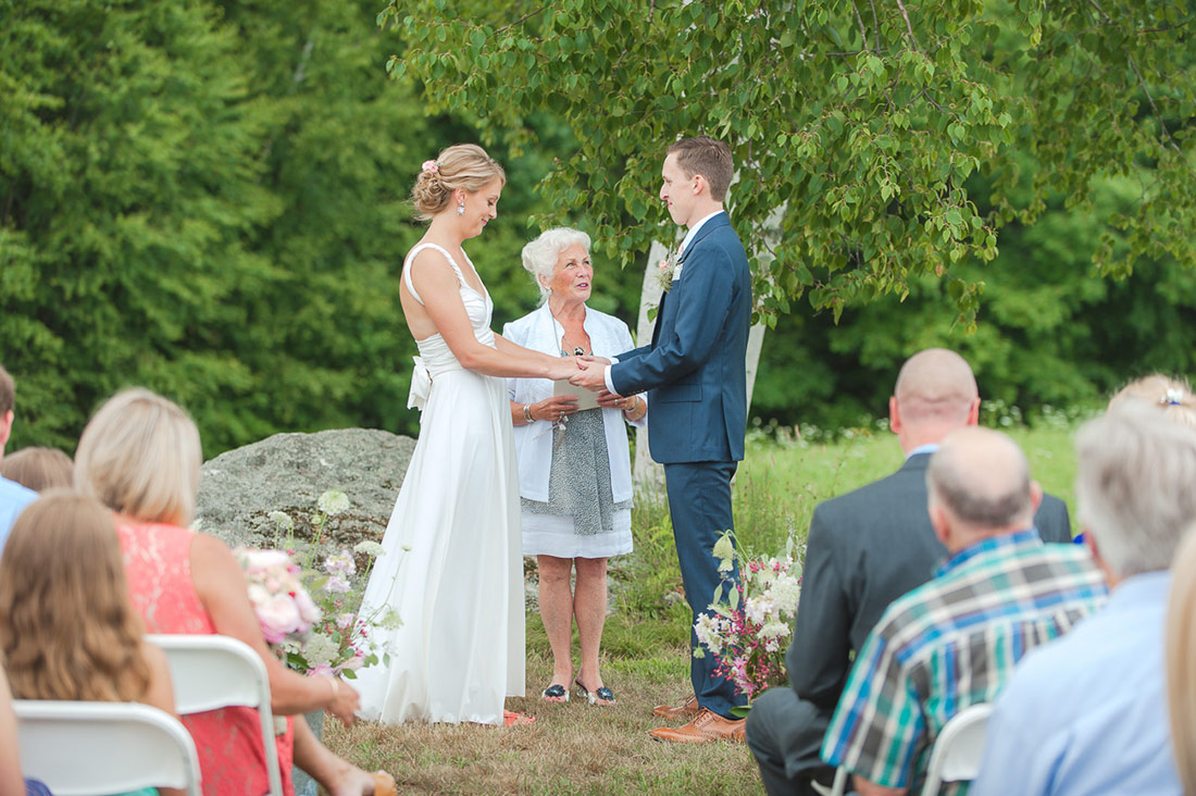 Outdoor Wedding Kitz Farm New Hampshire