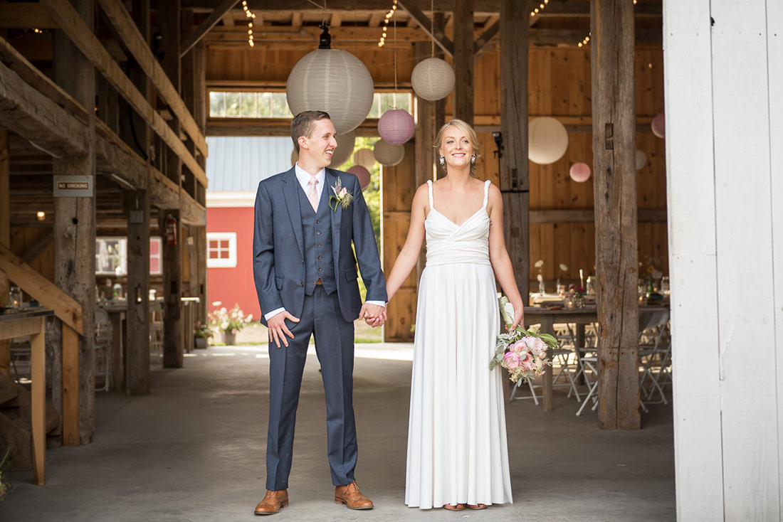 rustic barn wedding nh