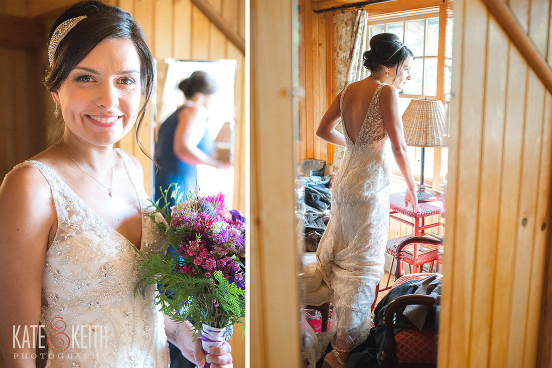 Loon Lodge Maine Wedding