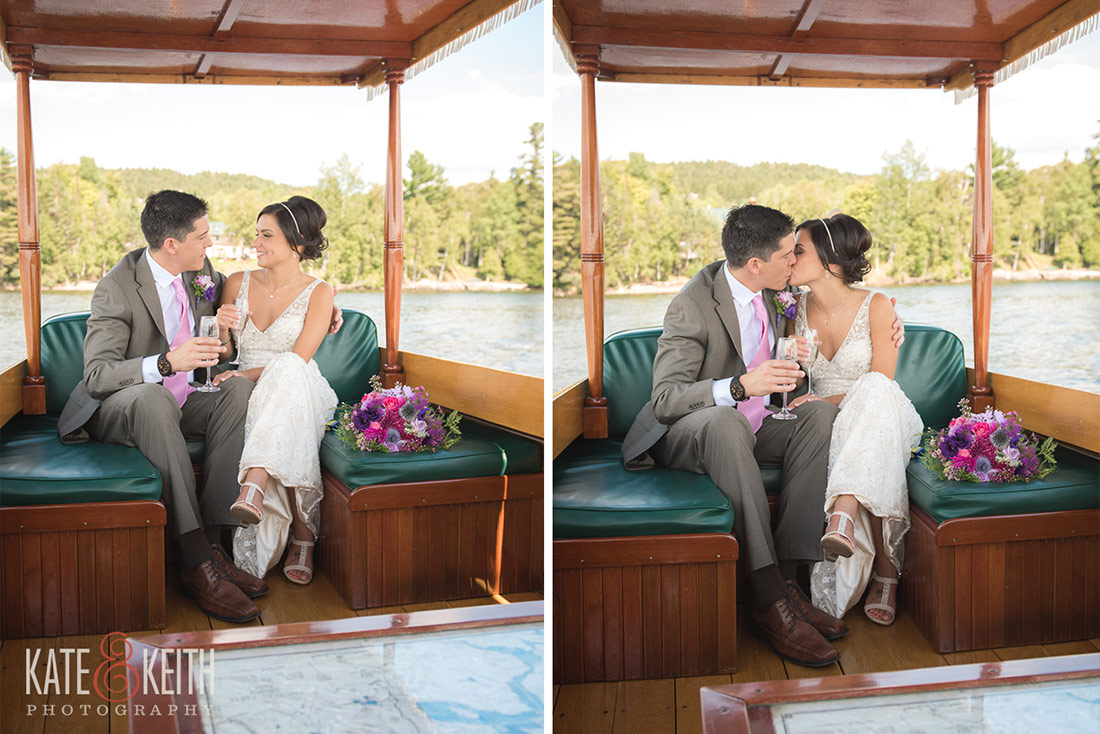 Rangeley Lake Wedding Cruise