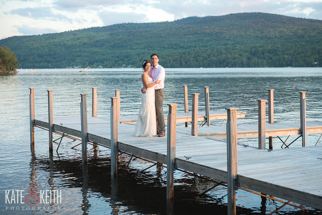 Rangeley Maine Lakeside Wedding