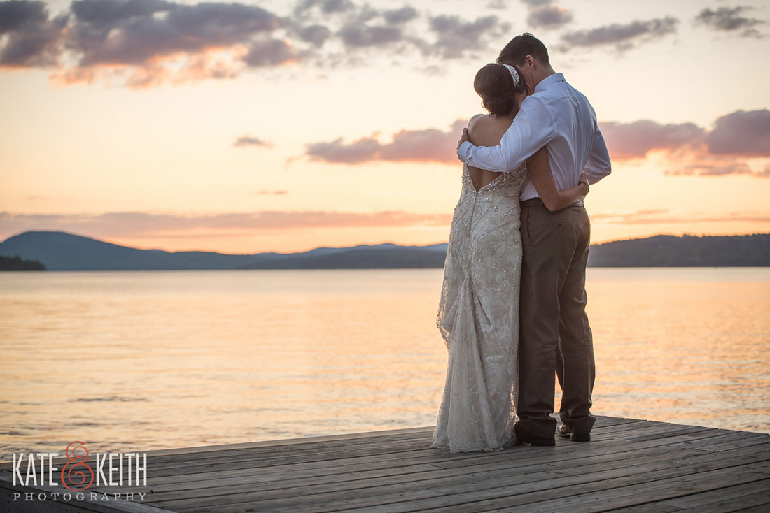Rangeley Lake Wedding