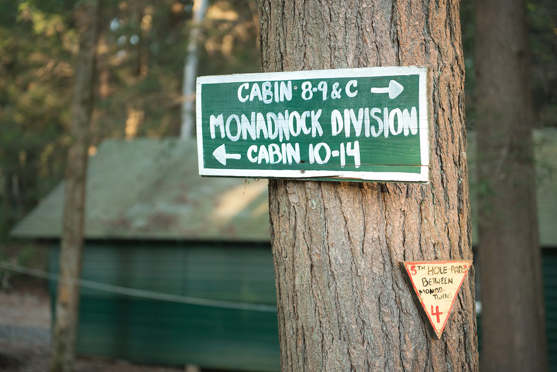 Camp Wedding in New Hampshire