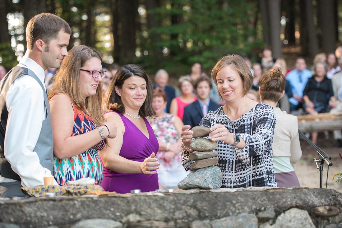 wedding cairn