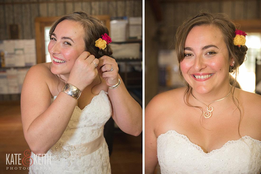 bride camp wedding
