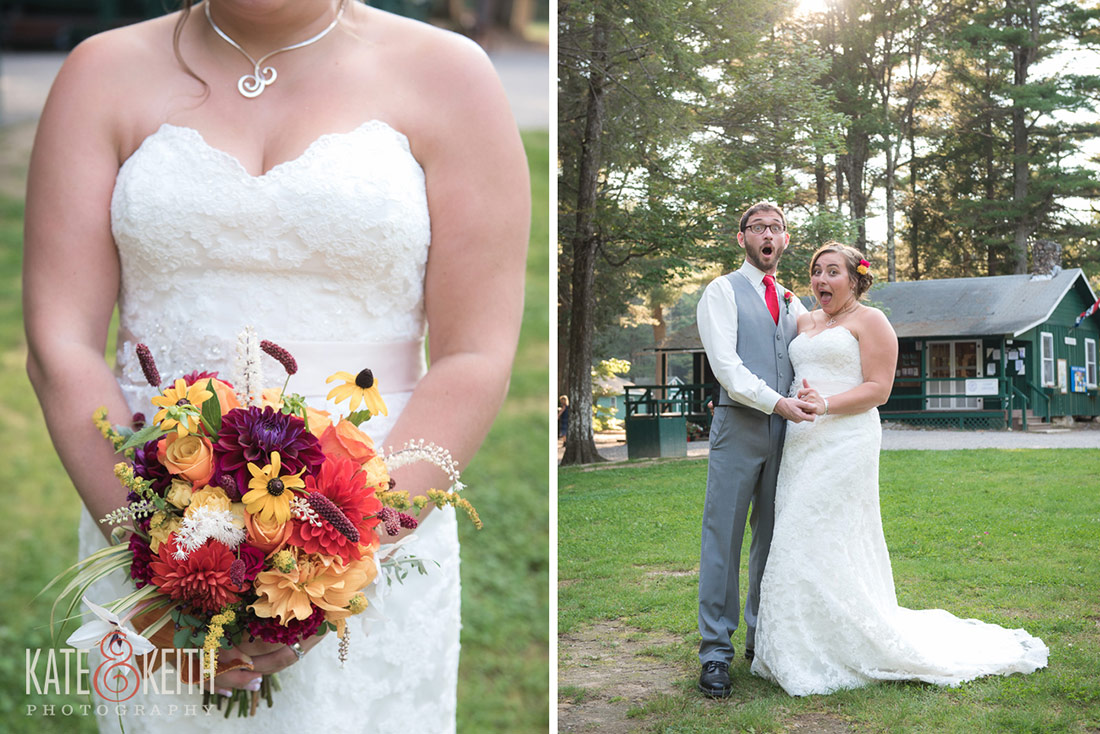 camp wedding pictures