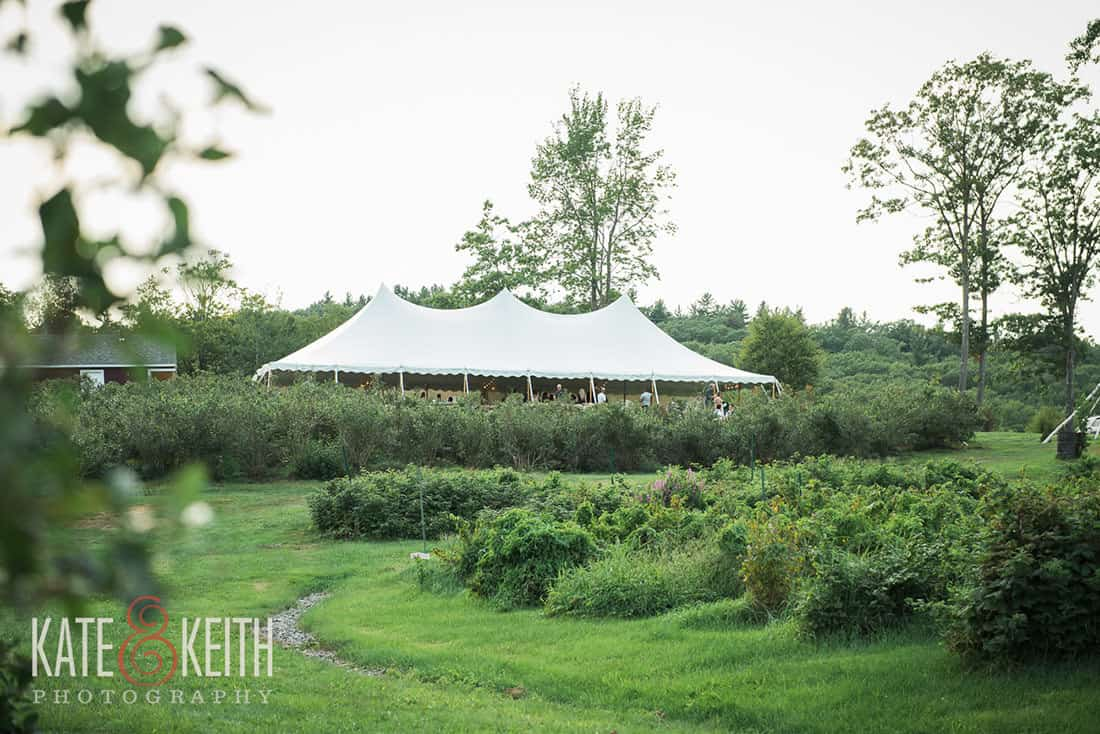 Outdoor tent for Same sex wedding