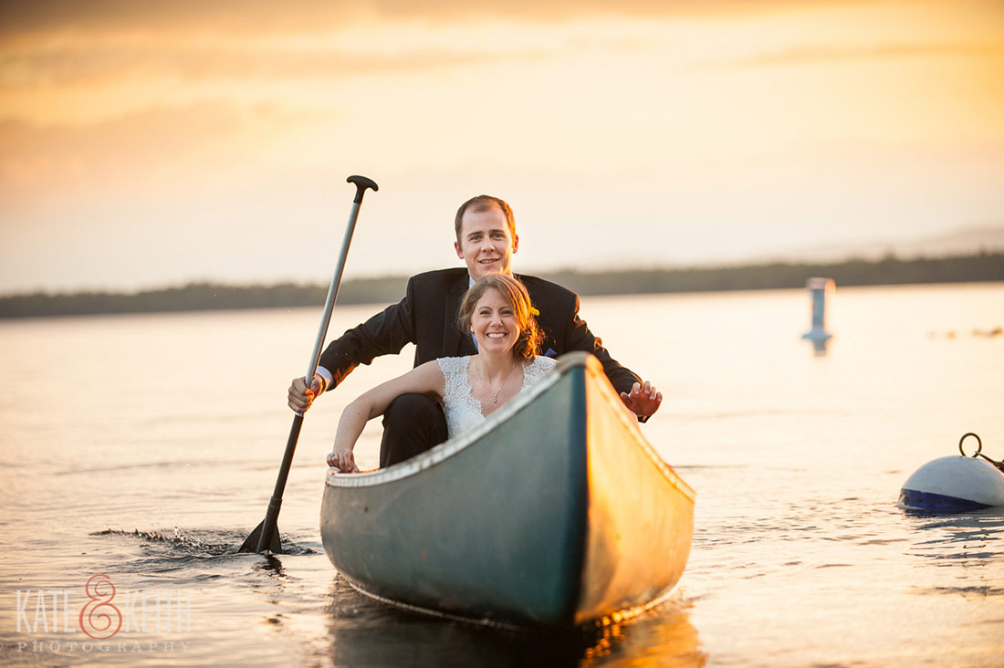 Sebago Lake Wedding