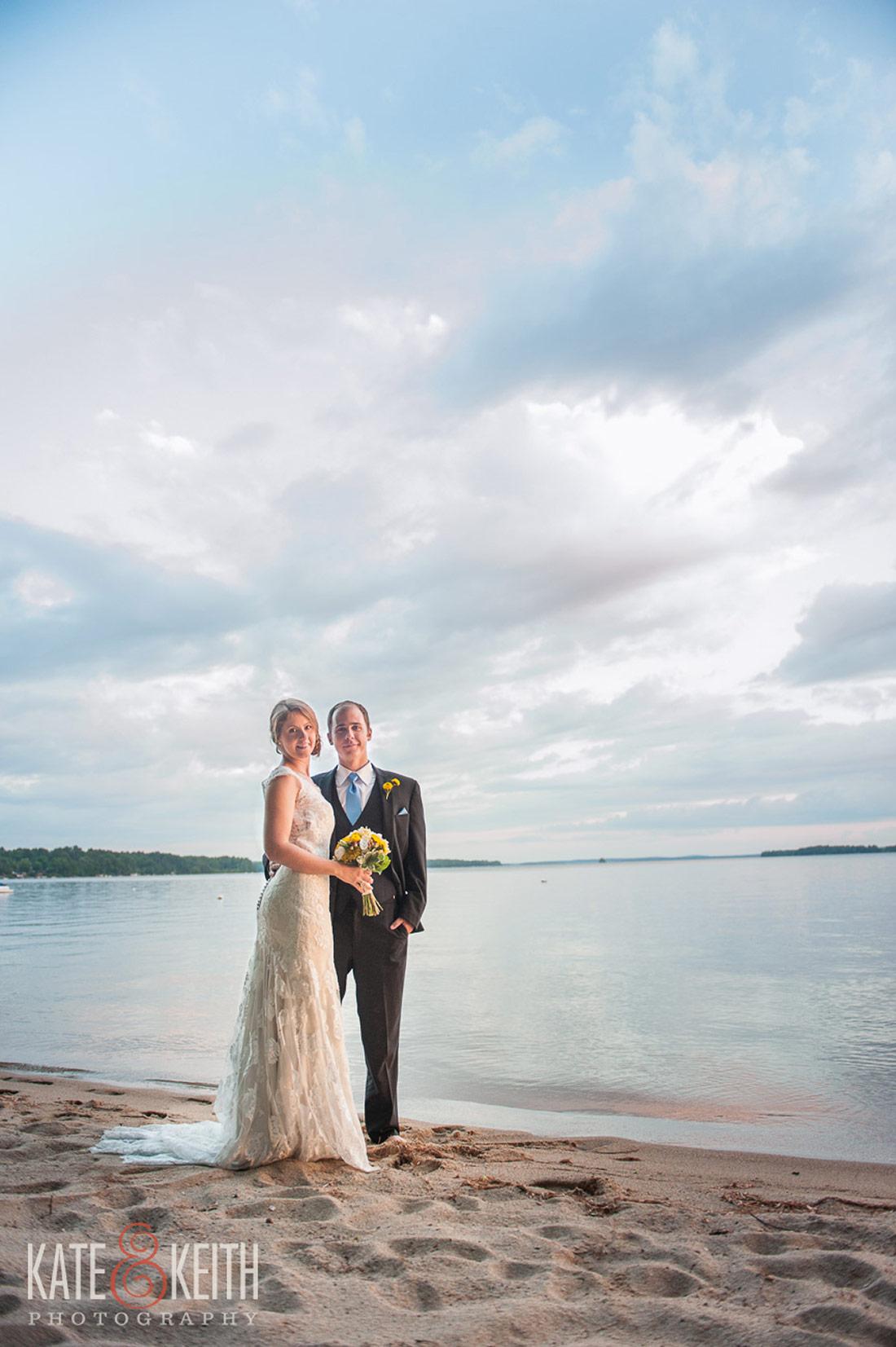 Sebago Lake Wedding ceremony