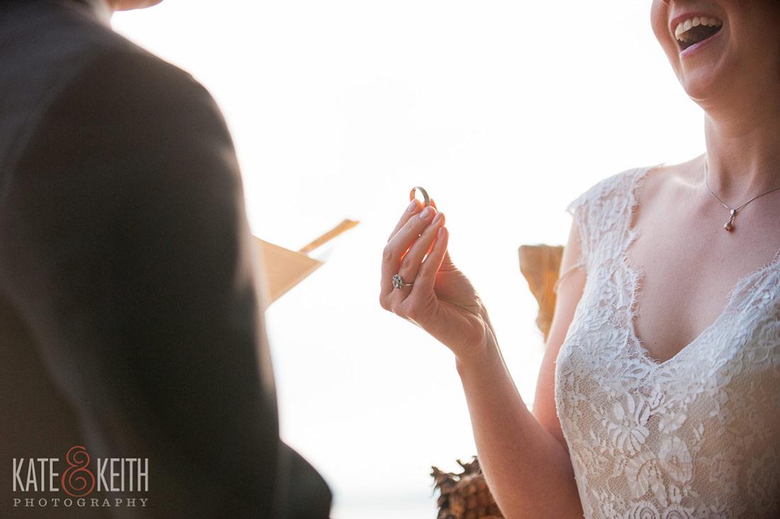 Sebago Lake Wedding ring photos