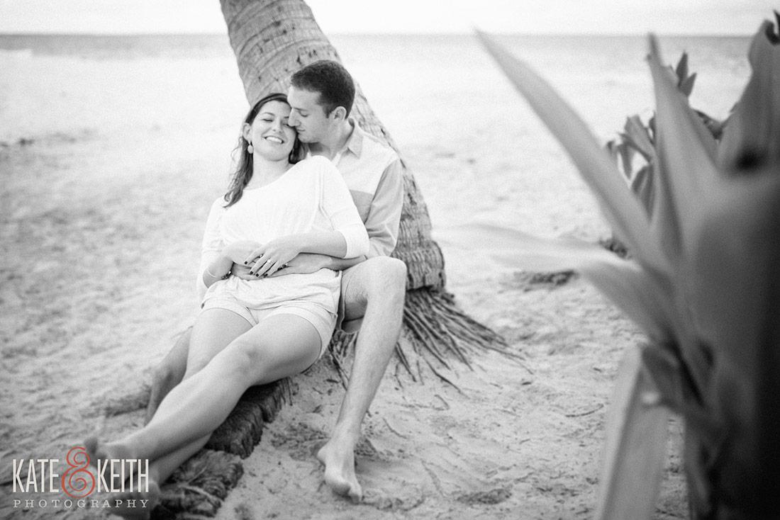 Lanikai Beach engagement session for destination wedding