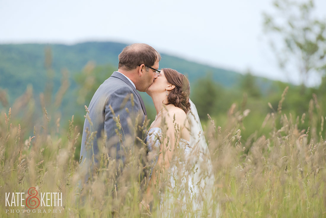 Tumbledown Farm bride and groom get married