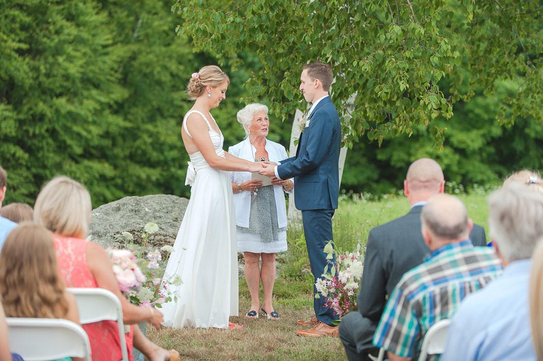 Outdoor Wedding Kitz Farm New Hampshire