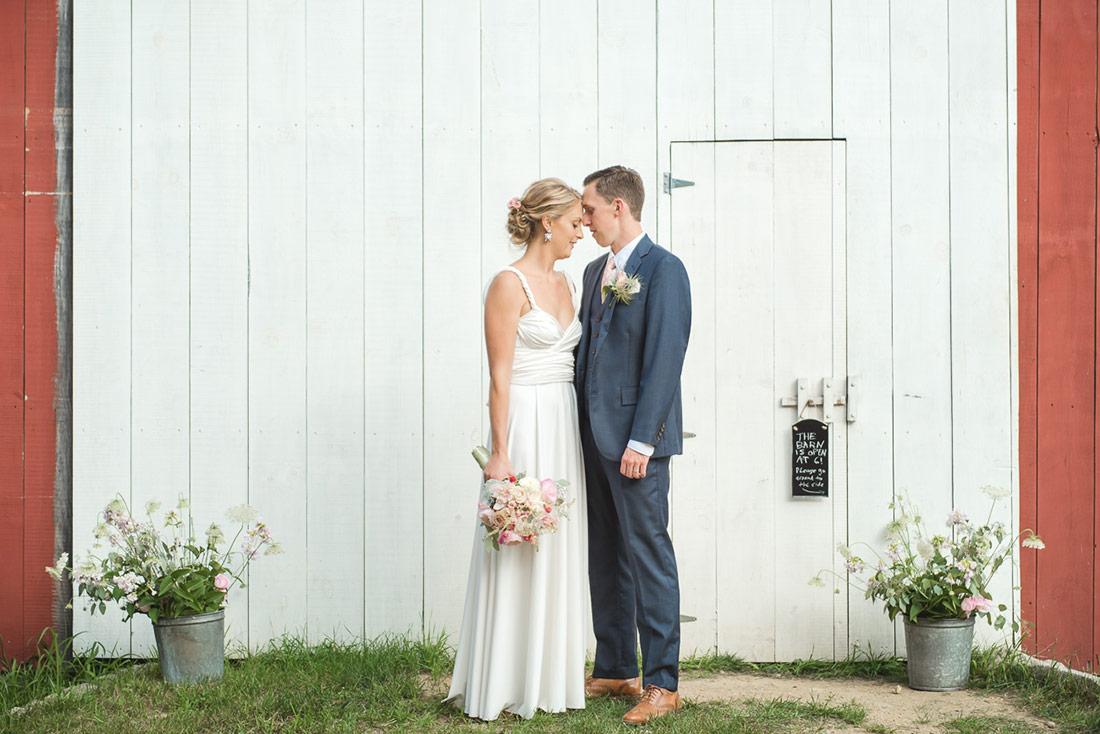 rustic barn wedding nh