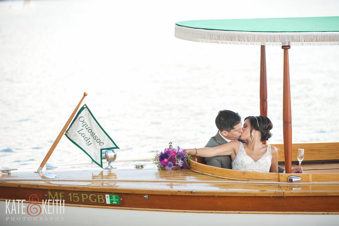Rangeley Wedding Cruise