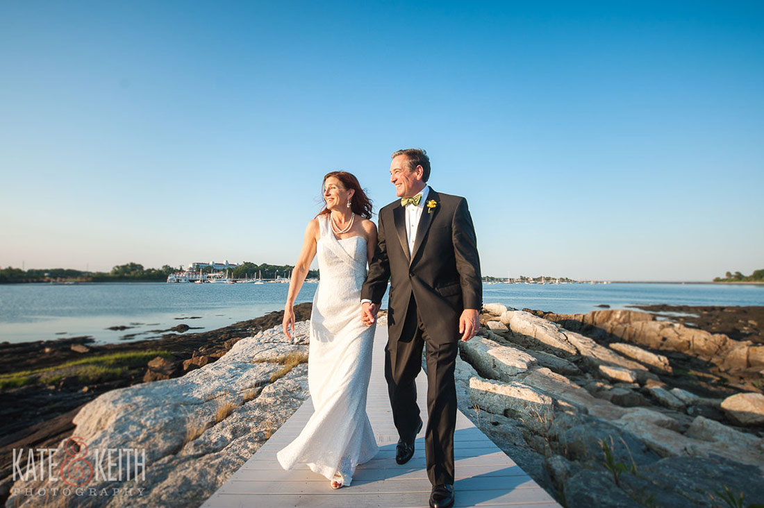 bride and groom t wentworth by the sea