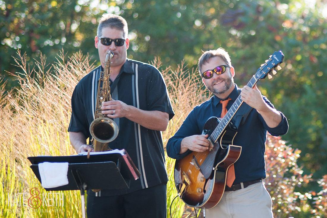 live band at a NH seacoast wedding