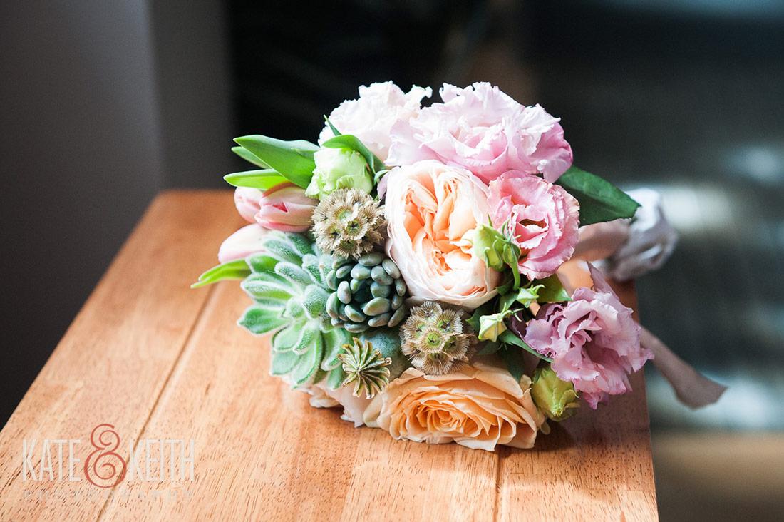 bouquet at nh seacoast wedding