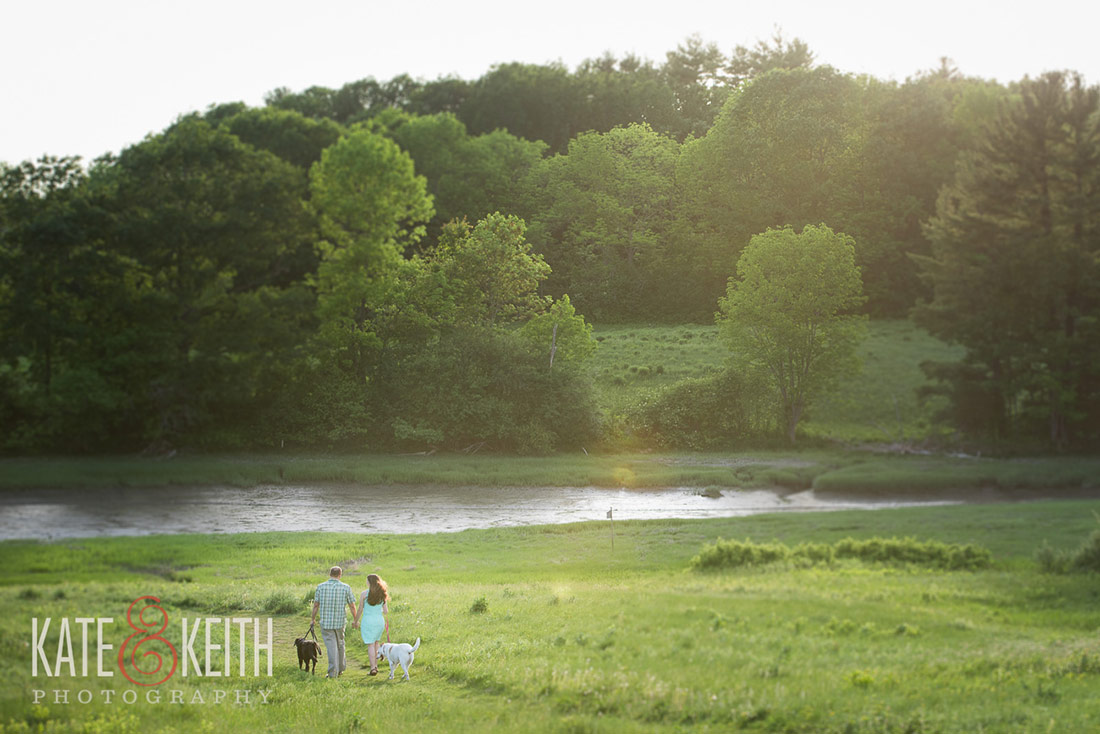 engagement at wagon hill farm