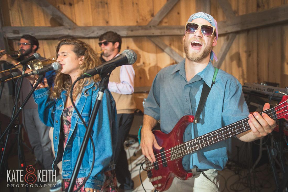 harsh armadillo at a NH seacoast wedding