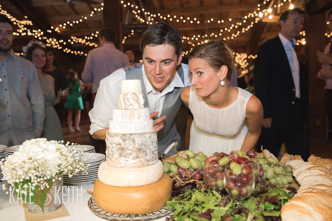 cheese cake wedding cake