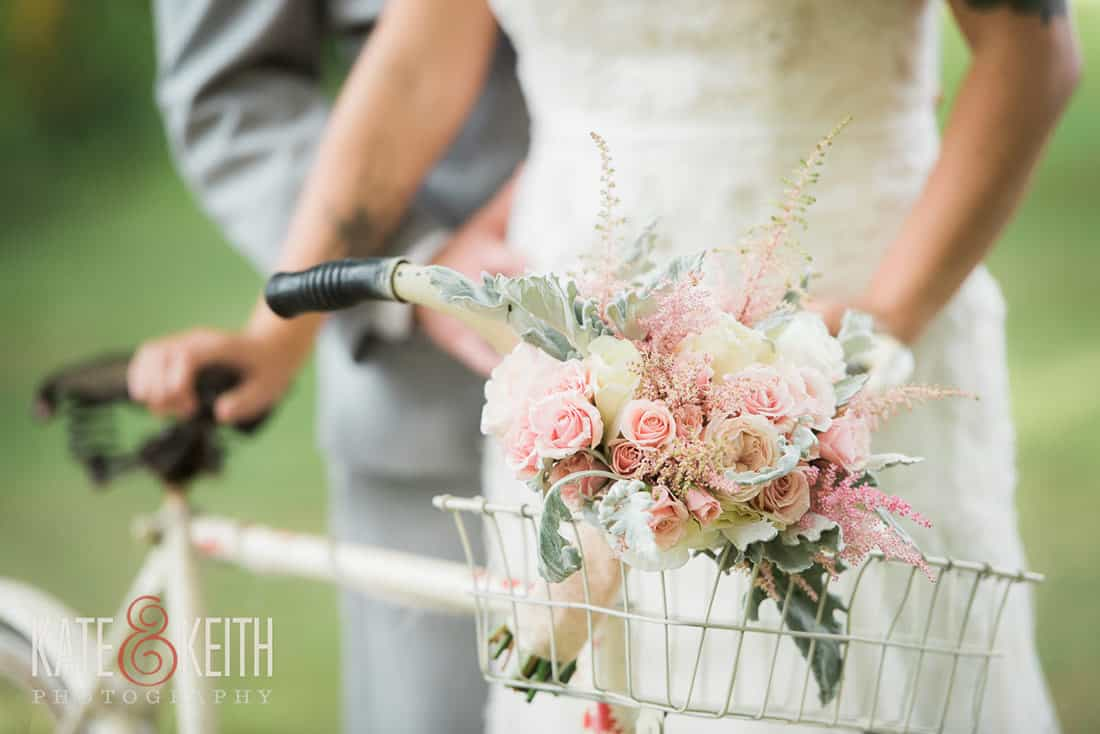 Details from same sex wedding at Monadnock Berry Farm