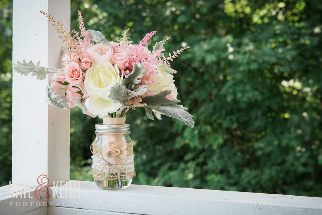 Flowers from gay wedding at Monadnock Berry Farm