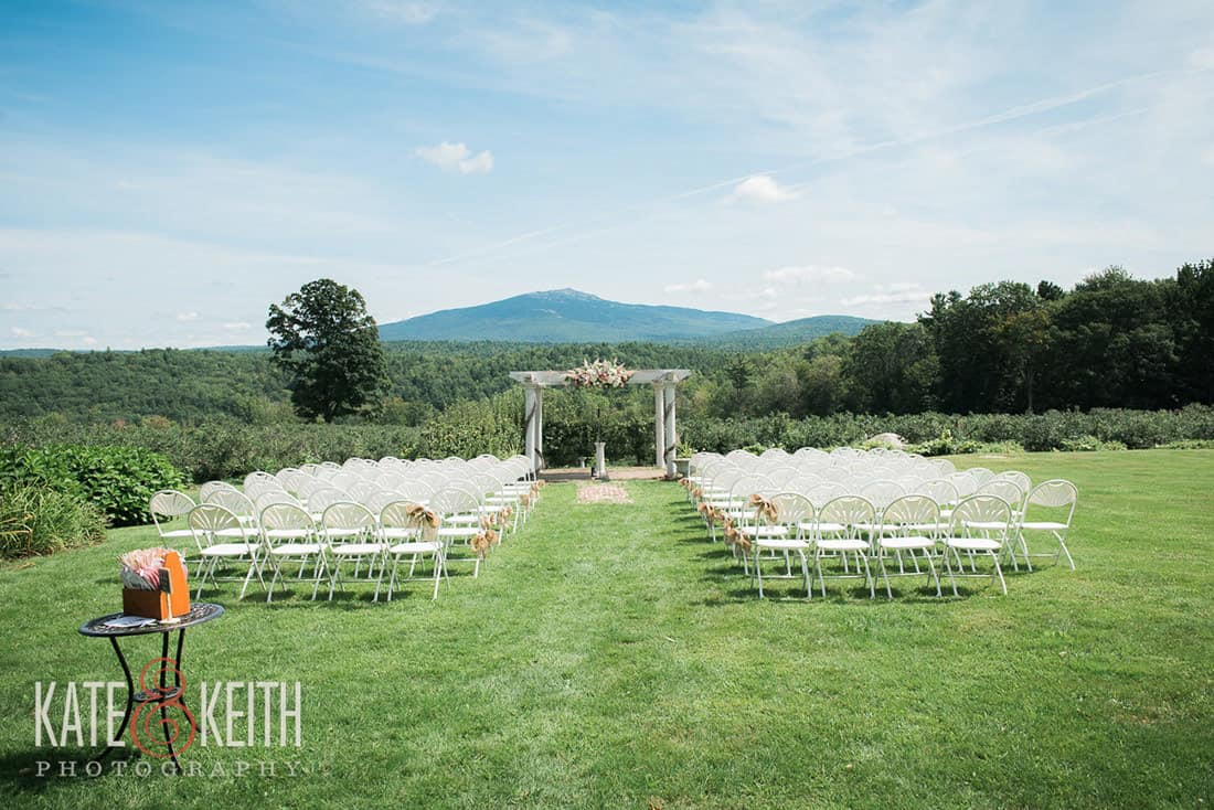 Ceremony view same sex wedding in New Hampshire
